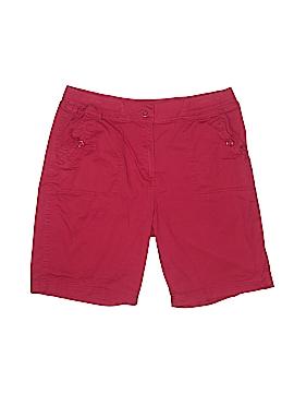 Karen Scott Khaki Shorts Size 14