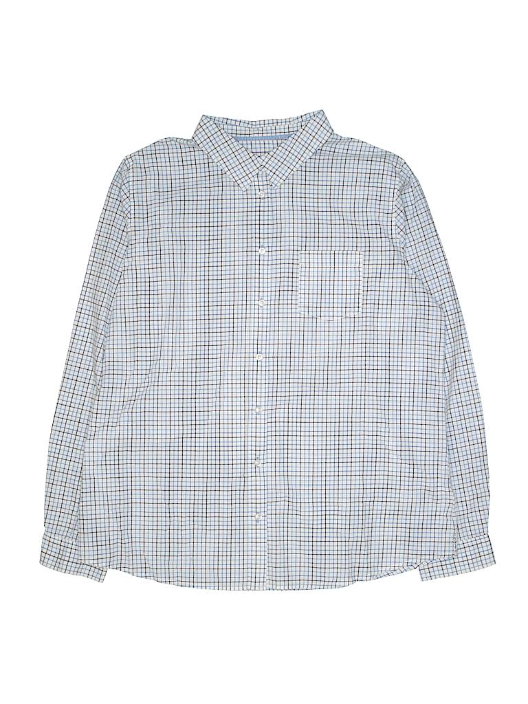 Merona Women Long Sleeve Button-Down Shirt Size XL