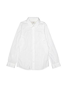 Scotch & Soda Long Sleeve Button-Down Shirt Size 8