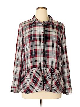 Como Vintage Long Sleeve Blouse Size L