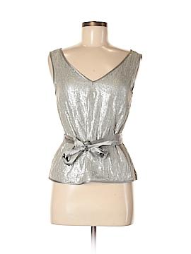 Hilton Hollis Sleeveless Silk Top Size 6