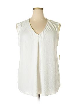 RACHEL Rachel Roy Sleeveless Blouse Size 3X (Plus)