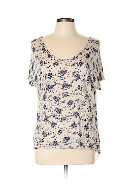 Lavish Short Sleeve Blouse Size L