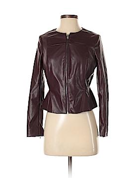 Worthington Faux Leather Jacket Size 2 (Petite)