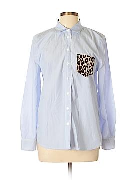 Equipment Long Sleeve Button-Down Shirt Size L