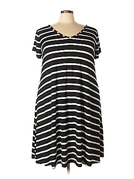 Lane Bryant Casual Dress Size 22 / 24Plus (Plus)