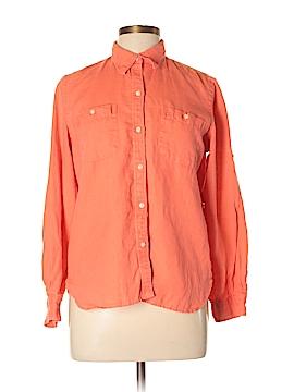 Ralph Lauren Long Sleeve Button-Down Shirt Size L (Petite)