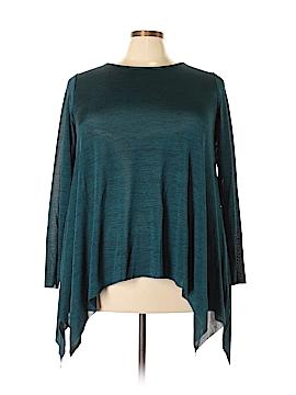 Cupio Long Sleeve Blouse Size 1X (Plus)