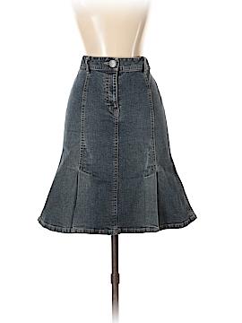 INC International Concepts Denim Skirt Size 2 (Petite)