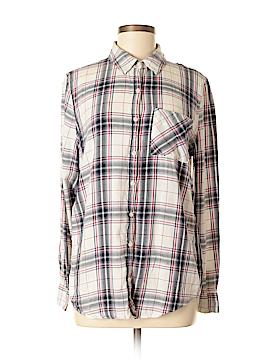 Tokyo Darling Long Sleeve Button-Down Shirt Size M