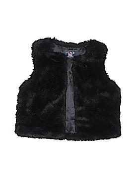 The Children's Place Faux Fur Vest Size M (Kids)