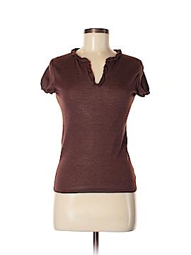 Jil Sander Short Sleeve Top Size 34
