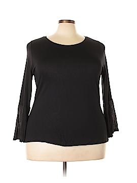 Sejour Long Sleeve Top Size 1X (Plus)