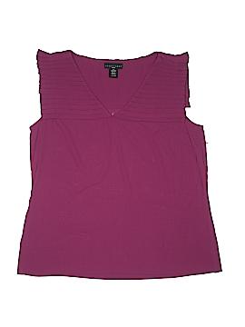 Apostrophe Short Sleeve Blouse Size L (Petite)