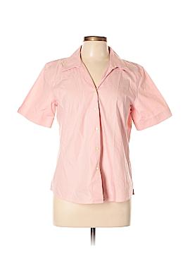 Orvis Short Sleeve Button-Down Shirt Size 12