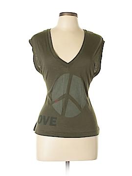 Peace Love World Sleeveless T-Shirt Size S