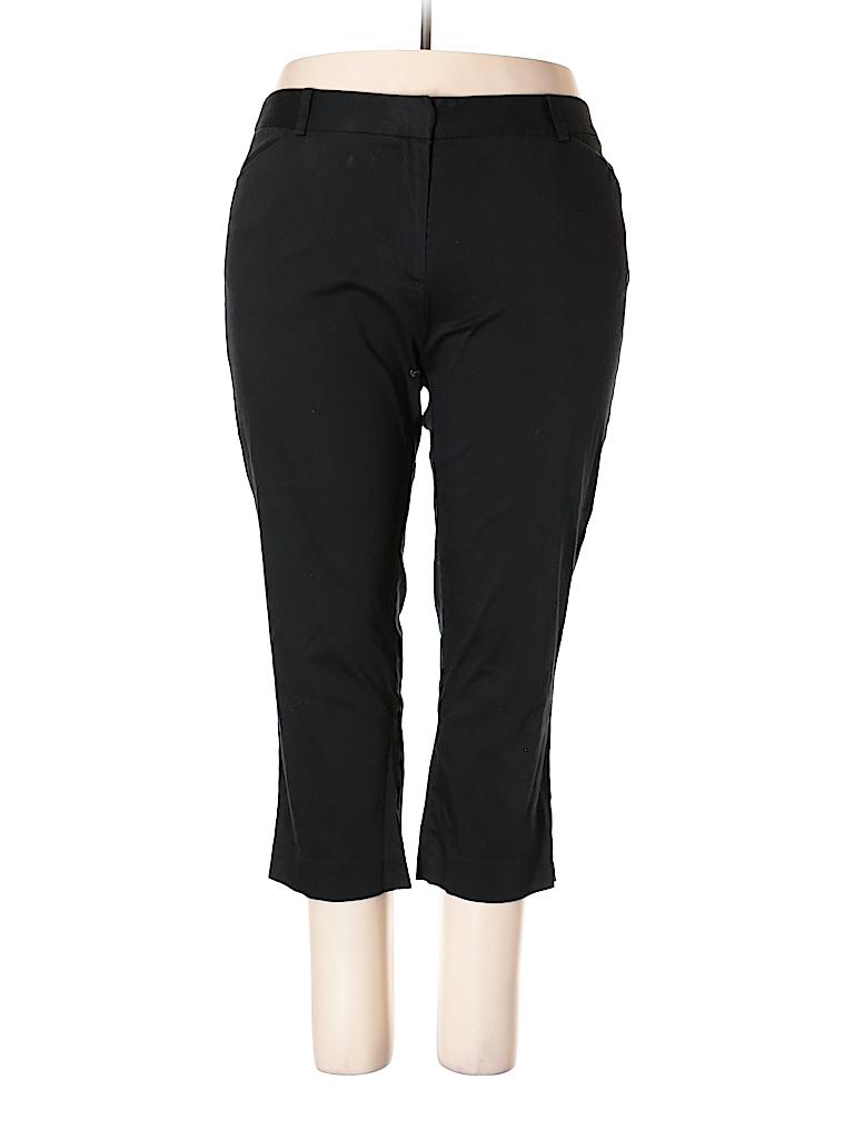 98e2ade7430d1 Jones New York Solid Black Dress Pants Size 18 (Plus) - 97% off ...