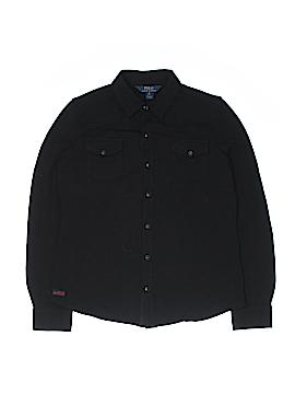 Polo by Ralph Lauren Long Sleeve Button-Down Shirt Size 16