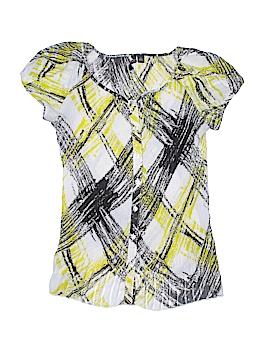 Essentials Short Sleeve Blouse Size S