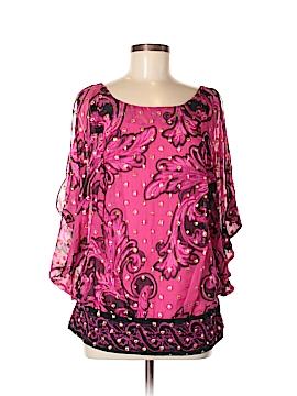 Yoana Baraschi Sleeveless Silk Top Size 10