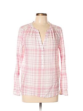 Ann Taylor LOFT Outlet Long Sleeve Button-Down Shirt Size L