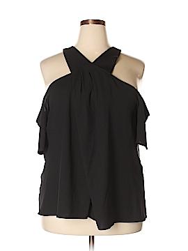RACHEL Rachel Roy Short Sleeve Blouse Size 24W (Plus)