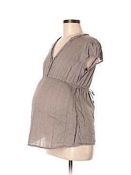 H&M Mama Short Sleeve Blouse Size M (Maternity)