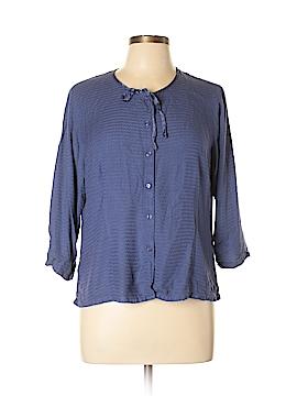 April Cornell 3/4 Sleeve Blouse Size L