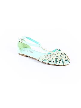 QQ Girl Sandals Size 4