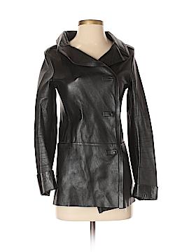 Calvin Klein Faux Leather Jacket Size 38