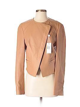 Michael Kors Leather Jacket Size 8