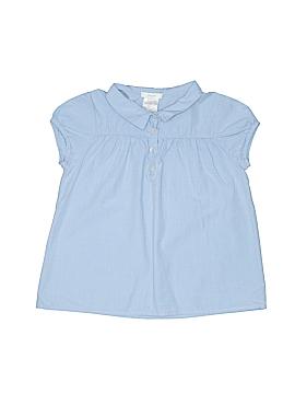 Jacadi Short Sleeve Button-Down Shirt Size 128 cm