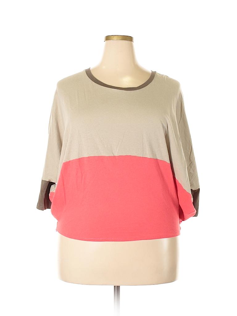 Ronen Chen Women 3/4 Sleeve T-Shirt Size 10 (3)