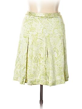 J. Crew Factory Store Silk Skirt Size 10