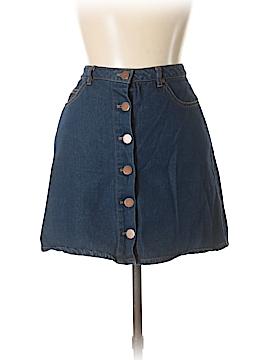 Be Cool Denim Skirt Size L