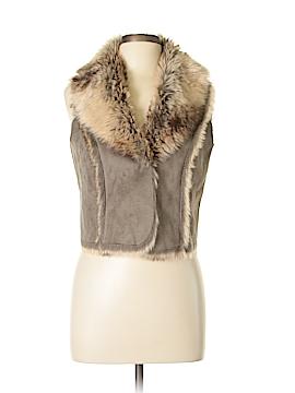 Relativity Faux Fur Vest Size M