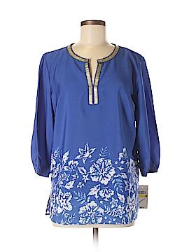Rafaella Long Sleeve Blouse Size M