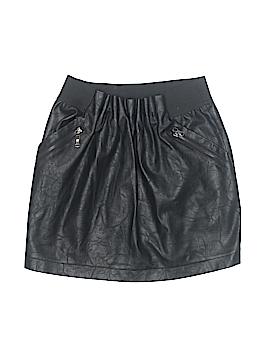 Sans Souci Faux Leather Skirt Size S