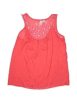 Sami & JO Sleeveless Blouse Size M