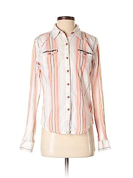 Twenty Long Sleeve Button-Down Shirt Size S