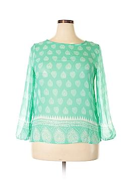 Moa U.S.A. Long Sleeve Blouse Size XL