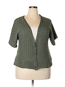 D&Co. Cardigan Size 1X (Plus)