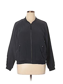Wrap Silk Cardigan Size 16