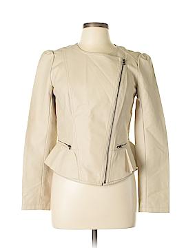 Elle Faux Leather Jacket Size 8