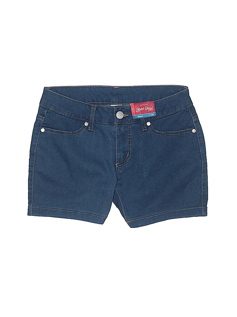 Faded Glory Women Denim Shorts Size 4