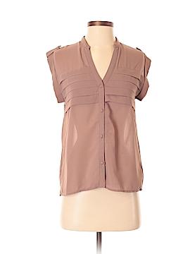 2b bebe Short Sleeve Blouse Size S