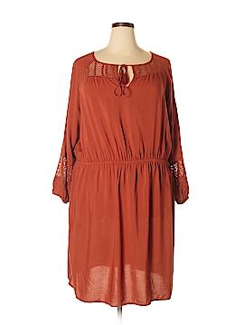 Ava & Viv Casual Dress Size 3X (Plus)