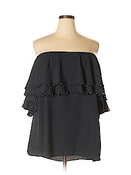 Jennifer Lopez Short Sleeve Blouse Size 2X (Plus)