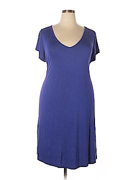 Lane Bryant Casual Dress Size 26 / 28Plus (Plus)