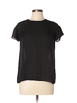 Haute Monde Short Sleeve Blouse Size L
